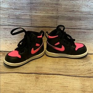 Nike Air Jordan girls high top sneaker
